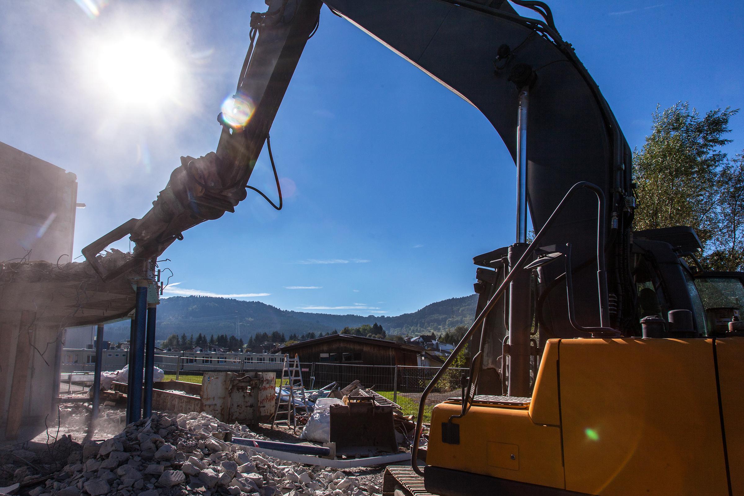 Betonrückbau durch die Beton-Profis von K&S in der Rottweiler Umgebung