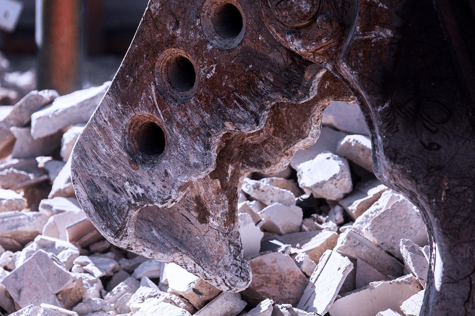 Maschinen für den Betonrückbau von K&S aus dem Kreis Rottweil